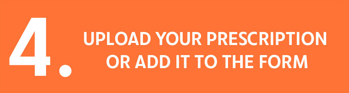 4. Upload Your Prescription